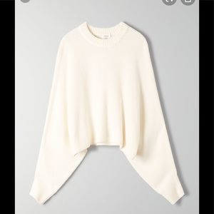 Wilfred Off White Mimi Sweater Size L